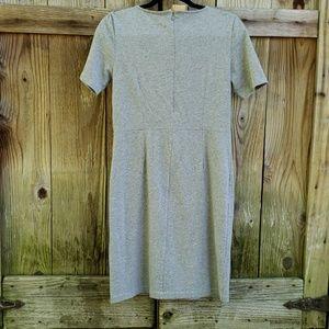 J. Crew Dresses - J Crew grey knit dress